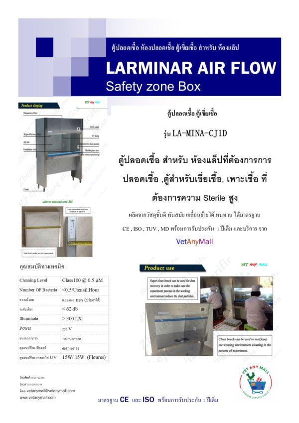 LARMINAR AIR FLOW